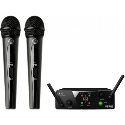 AKG WMS40 Mini2 Vocal Set BD US45A/C