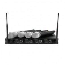 OMNITRONIC UHF-204 Wireless Mic System 823-832MHz