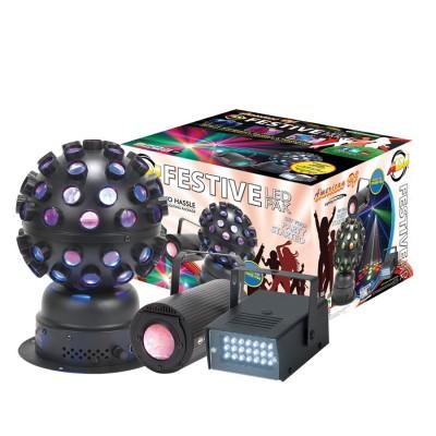 American Dj Festive LED Pak